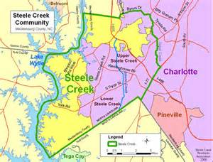 Charlotte NC Neighborhood Map