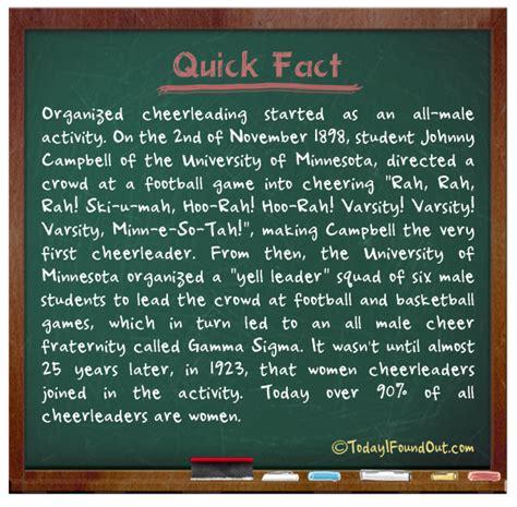 tifo quick fact cheerleading fact
