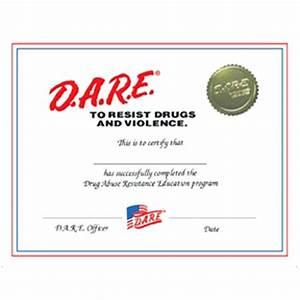 dare graduation certificate template choice image With ffa certificate template