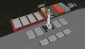Container On Barge