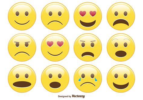 www emotion de smiley emoticon set free vector stock graphics images