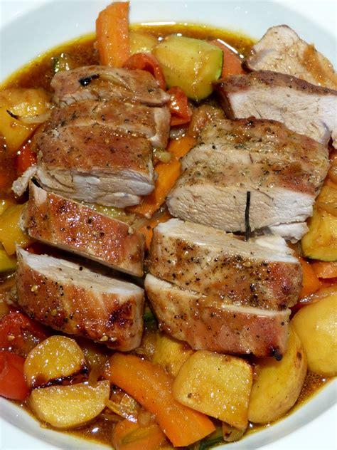 cuisine filet mignon filet mignon de porc et ses petits légumes un petit