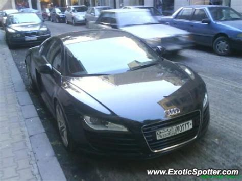 Audi R8 Spotted In Damascus, Syria On 03042009
