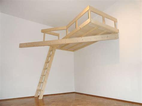 schlafzimmer ideen doppelstock raumgreifende konstruktion projekt hochbett bedroom