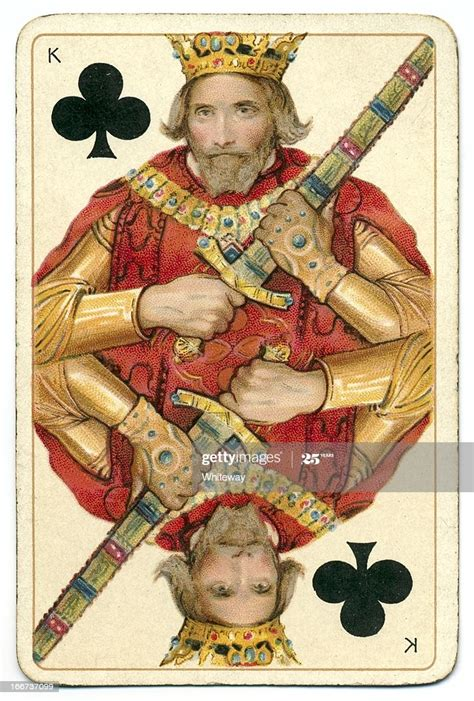 Kings card club will be serving the new menu so go ahead and order a drink before you satisfy all have you signed up for our kings card club players royalty card yet? King Of Clubs Dondorf Shakespeare Antique Playing Card High-Res Stock Photo - Getty Images