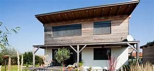 Holzfassade Welches Holz : modernes fertighaus fam sw1 in nieder sterreich mit holzfassade pichler haus ~ Yasmunasinghe.com Haus und Dekorationen