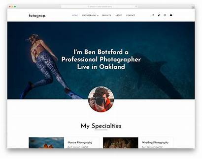 Website Templates Template Personal Amateur Professional Bootstrap