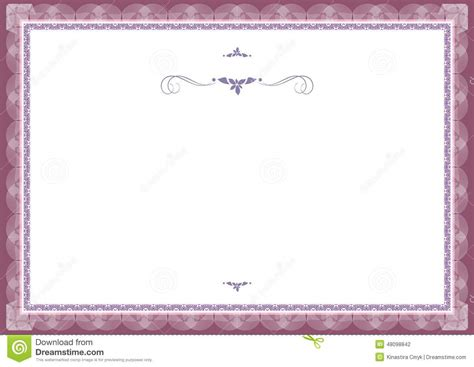 certificate background templates stock vector illustration
