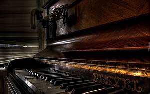 Information About Vintage Piano Wallpaper Widescreen