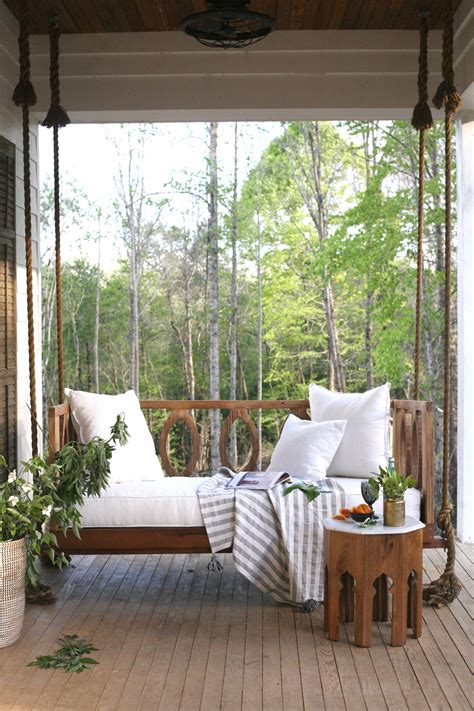 Farmhouse Made New by Porch Swing A Mississippi Home That Gave New To An