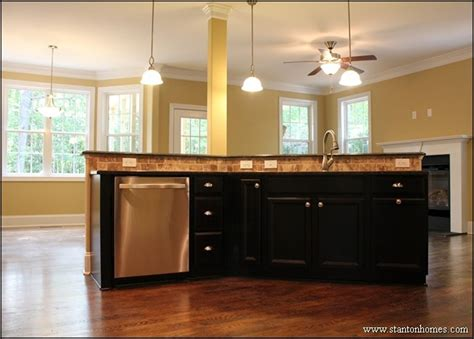 kitchen island bar height island kitchen open to breakfast room cabinets