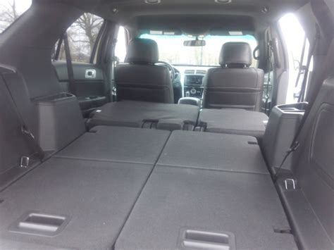 ford explorer sport  seats folded unrated flair