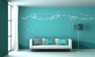 home interior wall painting ideas blue wall painting design ideas for living room