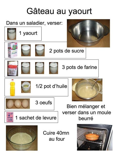 recette de cuisine gateau au yaourt un gateau au yaourt zôdio