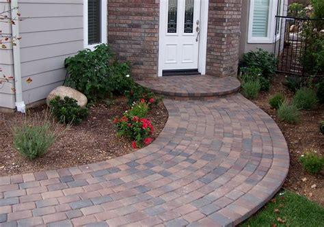 curved walkway designs paver walkway moorpark ca photo gallery landscaping network