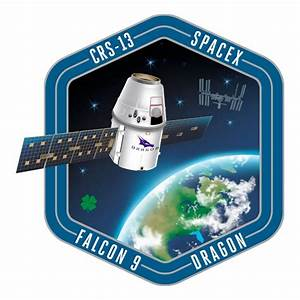SpaceX CRS-13 patch: ISS resupply flight - collectSPACE ...