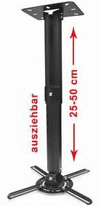 Tv Wandhalterung Ausziehbar 150 Cm : beamer projektor deckenhalterung drehbar 360 ausziehbar bis 50 cm schwarz ebay ~ Yasmunasinghe.com Haus und Dekorationen