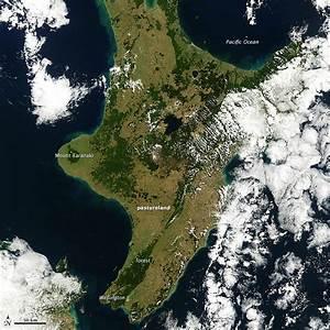 NASA Satellite Chronicles New Zealand Drought « Earth ...