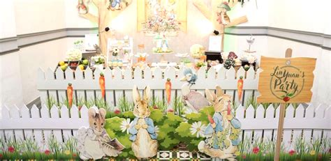 karas party ideas peter rabbit garden birthday party karas party ideas