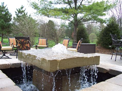 bpi outdoor living outdoor water feature water