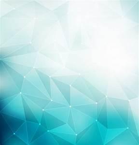 Blue polygonal background Vector Free Download - CdrAi