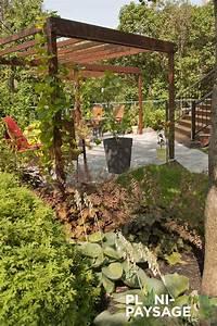 Jardin Paysager Exemple : am nagement paysager d un jardin de ville plani paysage ~ Melissatoandfro.com Idées de Décoration