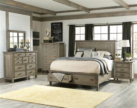 Coastal Bedroom Furniture Sets by Coastal Master Bedroom Ideas Brownstone 3pc Bed Mirror