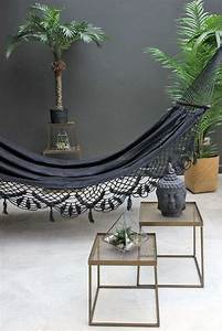 Deco Pour La Maison : hamac d 39 int rieur noir 12 id es de d co pour la maison ~ Teatrodelosmanantiales.com Idées de Décoration