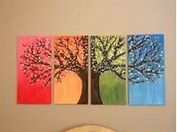 creative painting ideas 80 Easy Canvas Painting Ideas