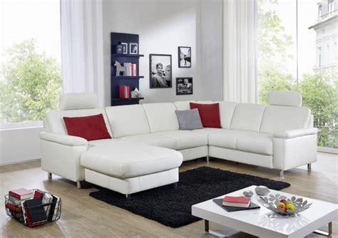 grand canapé d angle en u grand canapé d angle marwin c 6 places en u cuir ou tissu