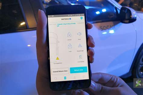 socar perkenal sistem kereta sewa digital  telefon pintar socar blog