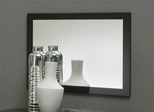 Miroir Cadre Noir : miroir gloria noir ~ Teatrodelosmanantiales.com Idées de Décoration