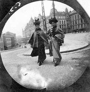 A norwegian university student used a spy camera in this for 19th century norwegian street photography