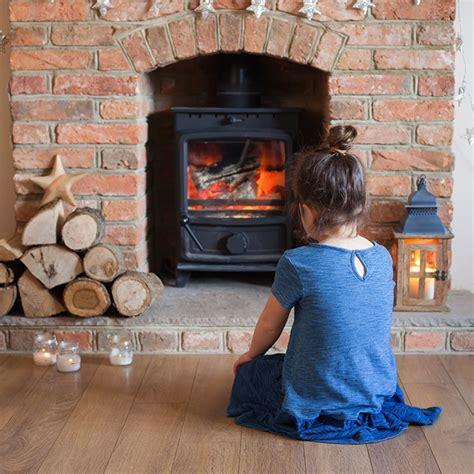 installing  wood burning stove