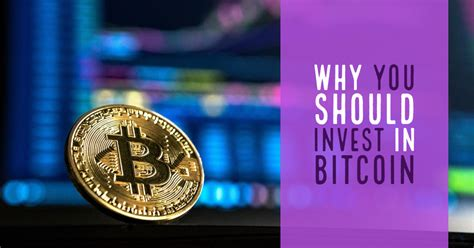 Only requests for donations to large, recognized charities are allowed, and only if there is good reason to believe that the person accepting bitcoins on behalf of the charity is. Why You Should Invest in Bitcoin - Investing Youngster
