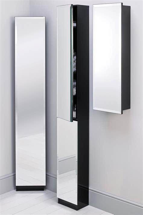 Tall Bathroom Cabinet With Mirror Door  Bathroom Cabinets