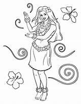 Coloring Hula Pages Printable Coloringcafe Colouring Pdf Sheet Printables Da Button Prints Standard Below sketch template
