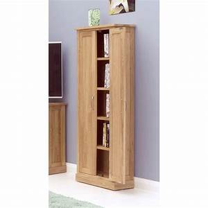 Mobel CD DVD Storage Cabinet Cupboard Solid Oak Living