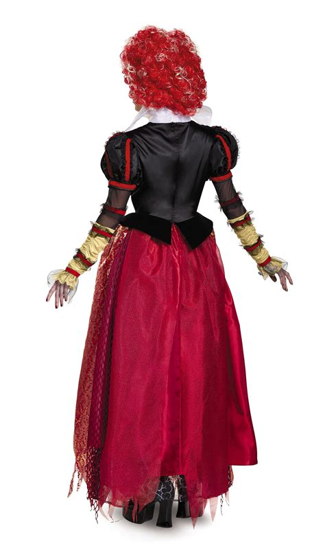 adult red queen woman costume   costume land