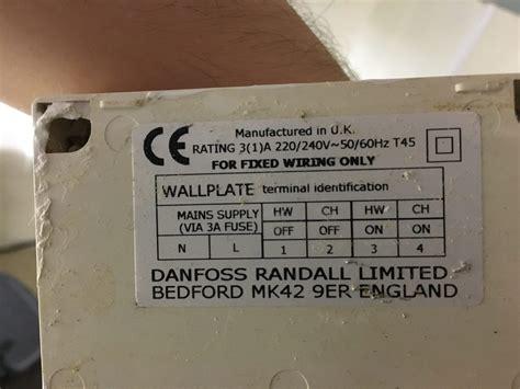 danfoss randall ltd dual cylinder thermostat wiring