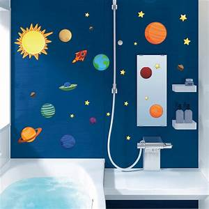 space wall stickers for kids peenmediacom With nice wall decals solar system