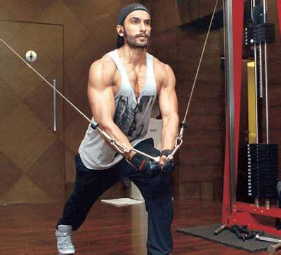 ranveer singh body workout  diet top ten indian