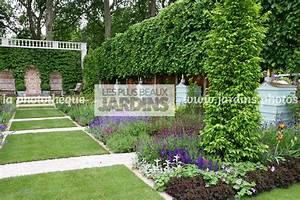 Comment Disposer Des Pots Sur Une Terrasse : la phototh que les plus beaux jardins jardin structur ~ Melissatoandfro.com Idées de Décoration