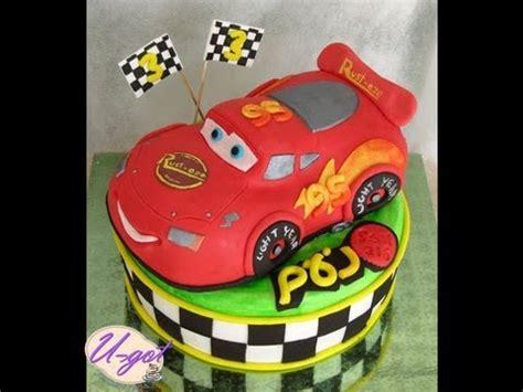 speedy mcqueen cake youtube