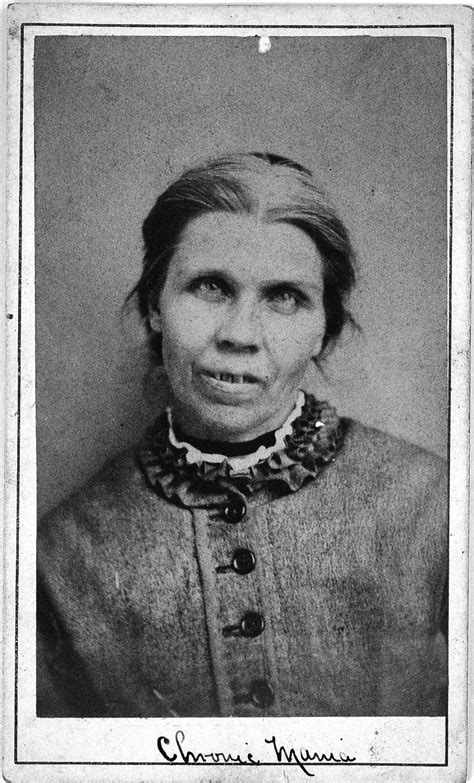 L0019060 Woman suffering from chronic mania; c. 1869