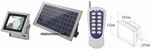 Eclairage Exterieur Avec Telecommande : projecteur solaire puissant led 720 lumens timer ~ Edinachiropracticcenter.com Idées de Décoration