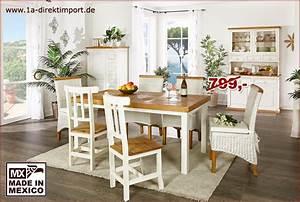 Esstisch Weiß Landhausstil : mexico esstisch tisch holz pinie marmor mosaik wei honig landhausstil ebay ~ Orissabook.com Haus und Dekorationen