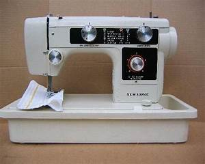 New Home Janome 632 Sewing Machine Manual