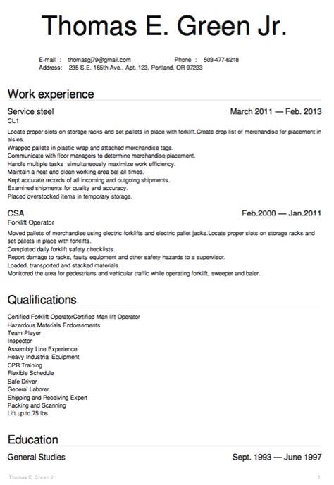 Free Sle Warehouse Resumes by Pin By Latifah On Exle Resume Cv Warehouse Resume