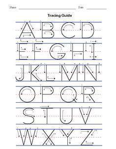 handwriting exercises  middle school practice